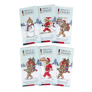 Help for Heroes Luxury Chocolate Bar Set £3 Delivered