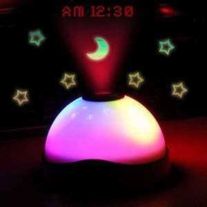 LED Stars Moon Projection Light with Clock £3.26 delivered w/code @ Rosegal