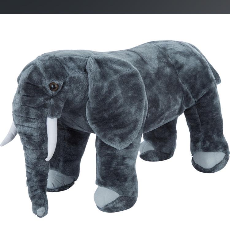 Melissa and Doug plush elephant - £21 @ TK Maxx