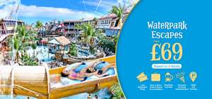 £69 for 2 for stay at a Alton towers hotel with day in the waterpark & brekkie