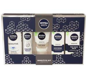 Nivea men's sensitive regime set - £8.99 @ Argos