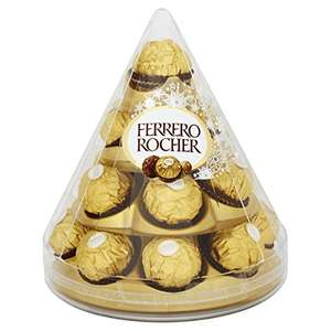Ferrero Rocher Cone, 17 pieces, 212 g (Pack of 4) £12.09 Prime £16.08 Non Prime @ Amazon
