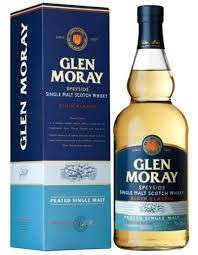 Glen Moray peated single malt whisky £18 @ Morrisons and Sainsbury's.