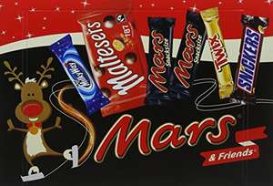 Mars Medium Selection Box, 181 g - Pack of 8 (42 Chocolate bars / 1.44kg total) £6.63 Prime £10.63 Non prime @ Amazon