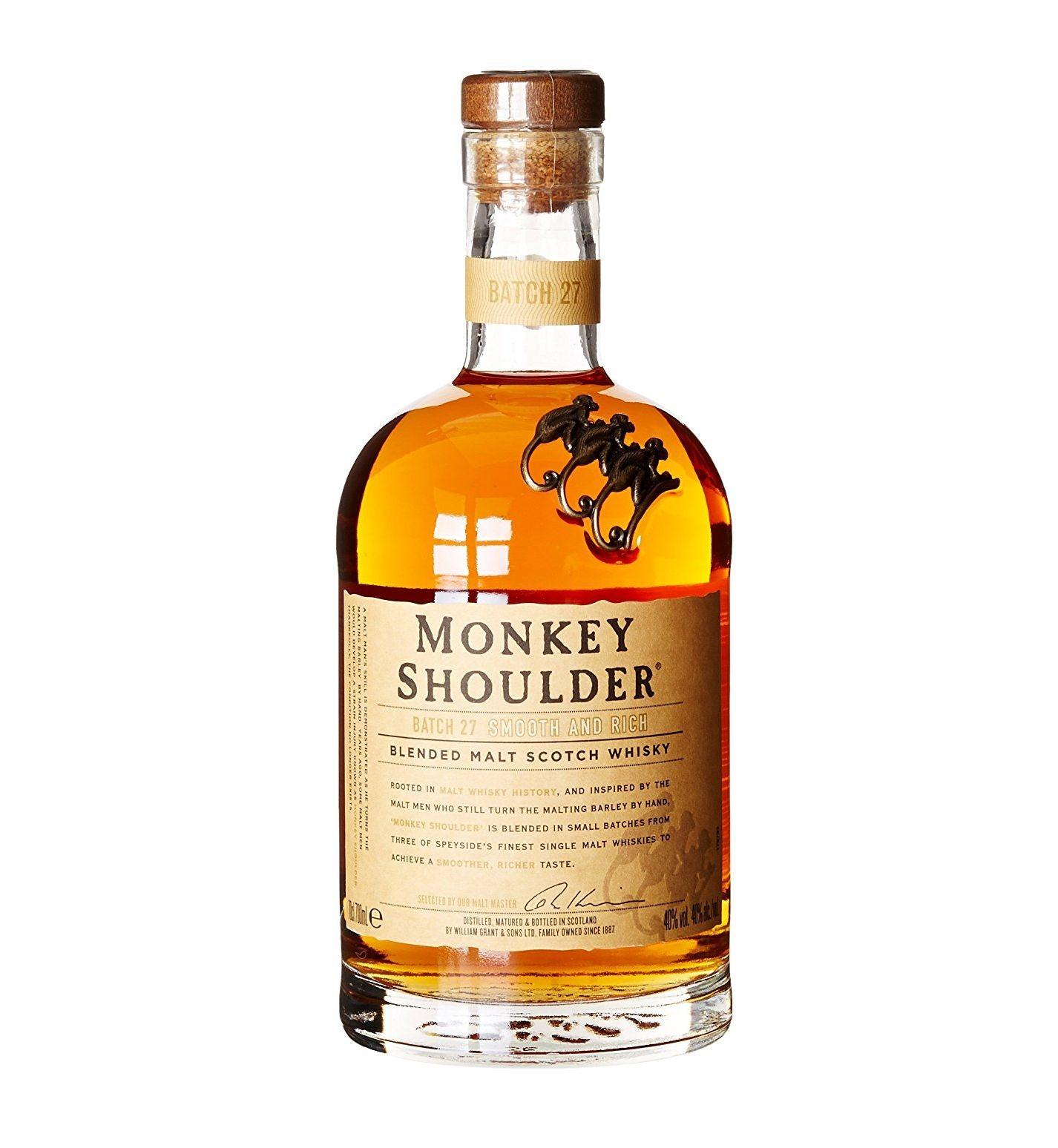 Monkey shoulder 70cl whisky whiskey - £23 @ Amazon