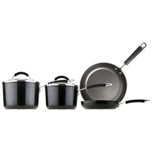 Meyer - Prestige dura forge 4 piece pan set - £54 delivered @ Debenhams