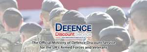 National Express - £15 Anywhere to anywhere return - @ Defence Discount Services