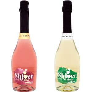 Shloer Celebration Pink Fizz / White Bubbly (750ml) - £2 @ Waitrose
