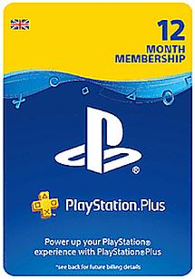 PlayStation Plus 12 Month Membership Download £37.49 @ GAME