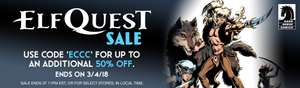 Incredible Elfquest digital comics sale @ Comixology - Graphic Novels £1.50 each