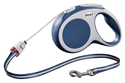 Flexi VARIO retractable lead, S Cord 8 m blue £10.49 Prime £14.49 Non Prime @ Amazon