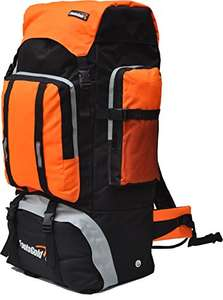 Extra Large Hiking Travel Backpack Camping Rucksack Top and Bottom Loading. £12.99 Prime £17.74 Non prime AMAZON