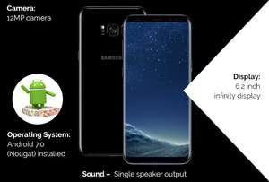 Samsung Galaxy S9 PLUS On Vodafone £460 Upfront £23 a Month, 4GB data - £1012