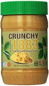 Bell Plantation Crunchy 1883 Peanut Butter, 454 g for £1.65 @ Amazon (ADD ON ITEM)