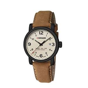 Wenger Men's Watch 01.1041.134 Swiss Made Water Resistsnt £47.61 @ Amazon