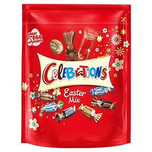 Celebrations Easter Sharing Pouch 450g, Large £2.50 Prime Exclusive @ Amazon Pantry