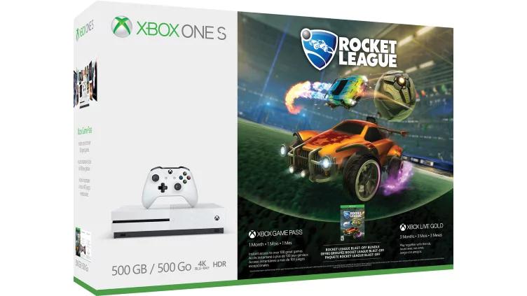 Xbox One S 500GB + Rocket League + 3 Months Xbox Live £158.99 @ Microsoft Finland (Via Nokeys)