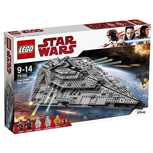 LEGO Star Wars The Last Jedi 75190 First Order Star Destroyer £95 @ Amazon.de delivered
