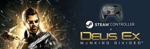 Steam Controller + Deus Ex: Mankind Divided Bundle + Free DLC's - 53% price drop Only £35.38 (Inc. Shipping)