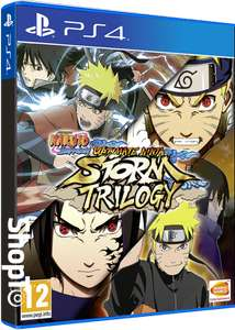 Naruto Shippuden Ultimate Ninja Storm Trilogy £24.85 at Shopto
