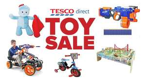 Toys clearance at Tesco Direct - free delivery at your local Tesco store