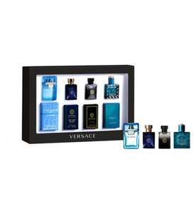 Versace Mens' 4 x 5ml Miniatures Gift Set - Exclusive to Boots, £12.37 (Click And Collect To Store)