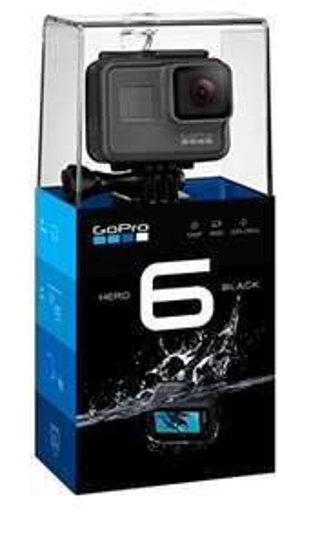 GoPro Hero6 Black Waterproof 4K Action Camera @ Amazon.es delivered
