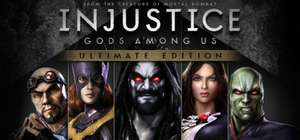 PC : Injustice: Gods Among Us Ultimate Edition(Fighting Game)  £3.74 reduced from £14.99 ** Direct with Steam **