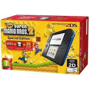 NINTENDO 2DS CONSOLE WITH SUPER MARIO BROS 2 GAME BUNDLE  (damaged box) £64.99 ebay /  thenewpc2013