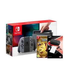 Switch Grey w/Rayman Legends + Travel Pack (Switch) for £289.99 delivered @ Grainger