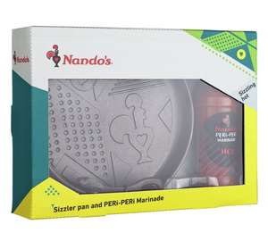Nando's Sizzler Set, was £24.99, further reduced to £5.24 at Argos