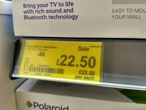 Polaroid TV Soundbar found instore @ ASDA - £22.50 (Huddersfield)