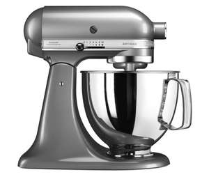Kitchenaid 125 Artisan 4.8l Bowl Stand Mixer - £279.96 + £9.95 delivery (or 4 instalments of £69.99) @ QVC