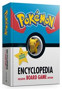 The Official Pokémon Encyclopedia Special Edition: With Exclusive Board Game and Figurine £4 (Prime) / £6.99 (non Prime) at Amazon