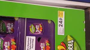 Rowntrees Tooty Frooties 150g - 24p at  Tesco Sale bŕanch