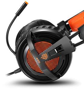 EasySMX Over-ear Wired Stereo Gaming Headphone with Mic £9.49/ £13.48 None Prime Sold by HTQ-UK and Fulfilled by Amazon