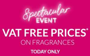 Debenhams VAT free prices on fragrances and Urban Decay - Today Only