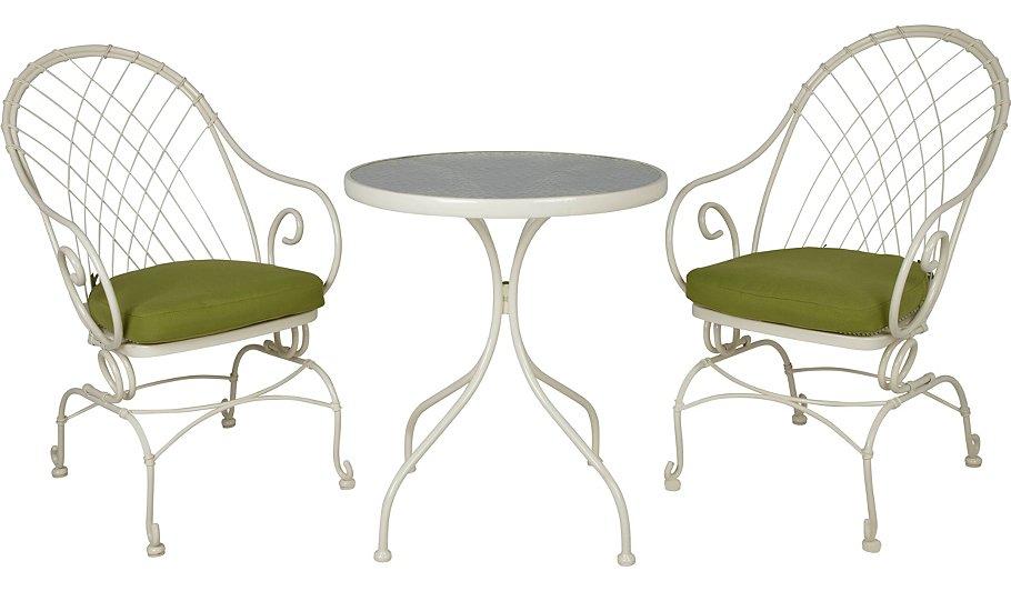 Eden rocker chairs - 3 piece Bistro set was £129 now £64.50 @ Asdageorge
