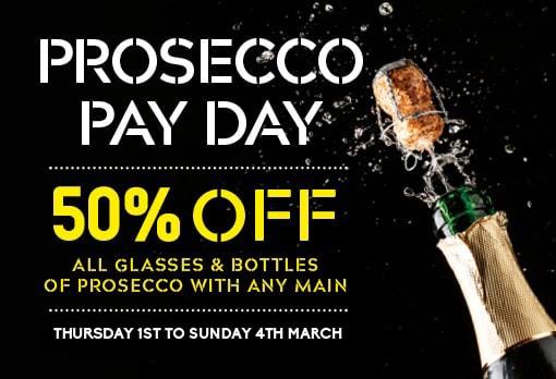 Prosecco discount offer