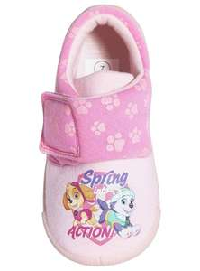 Paw patrol pink slippers size 5 now £1.99 , 6,8,9 £2.49 @ Argos
