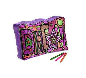 Chad Valley colour your own DREAM cushion £3.49 @ Argos