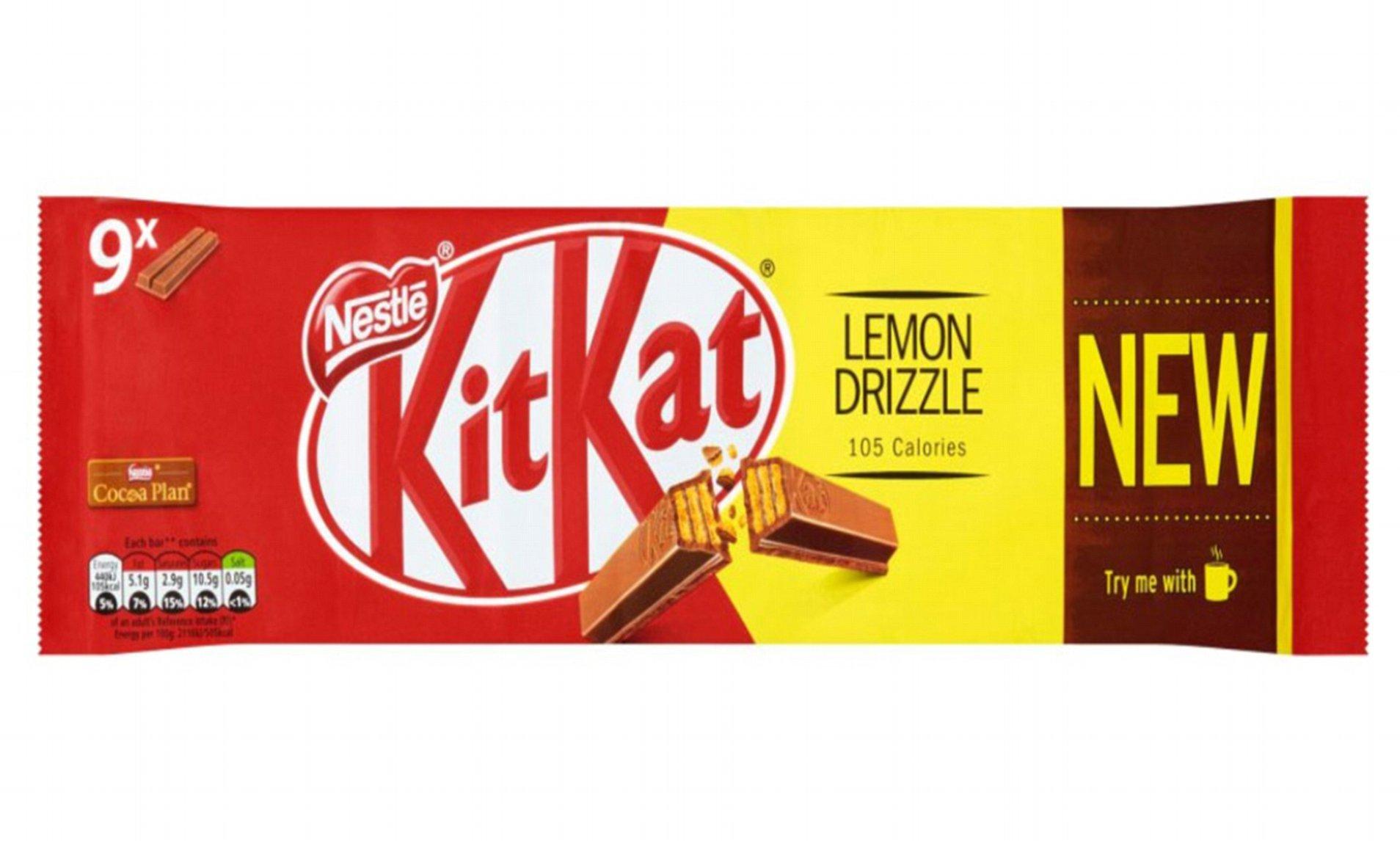Lemon drizzle kitkat £1.50 instore @ Asda