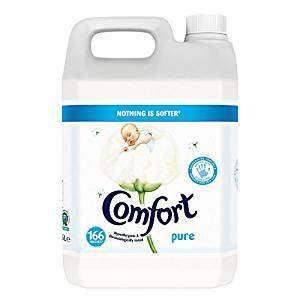 Comfort Pure 5L 166 Washes now £5 @ Wilko
