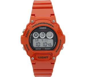 Casio Unisex Red Illuminator Watch £7.99 Argos