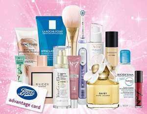 Boots Triple points weekend When you spend £50 online or £30 instore