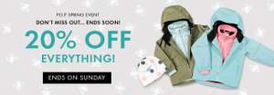 20% off Everthing @ Polarn O Pyret Childrens wear