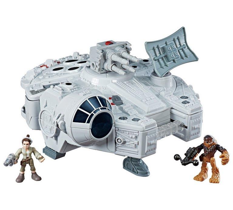 Star Wars galactic heroes millennium falcon playset £17.99 Argos