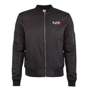Mass Effect: N7 Bomber Jacket (was £64.99) now £19.99 delivered @ Merchoid