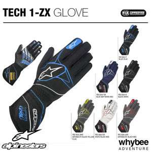 eBay: Alpinestars TECH-1 ZX RACING GLOVES - £59.99 @ whybee-adventure eBay