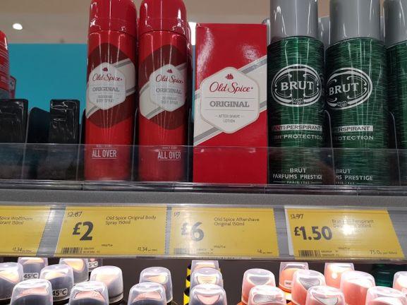 Old Spice Original Aftershave 150ml - £6 instore @ Morrisons